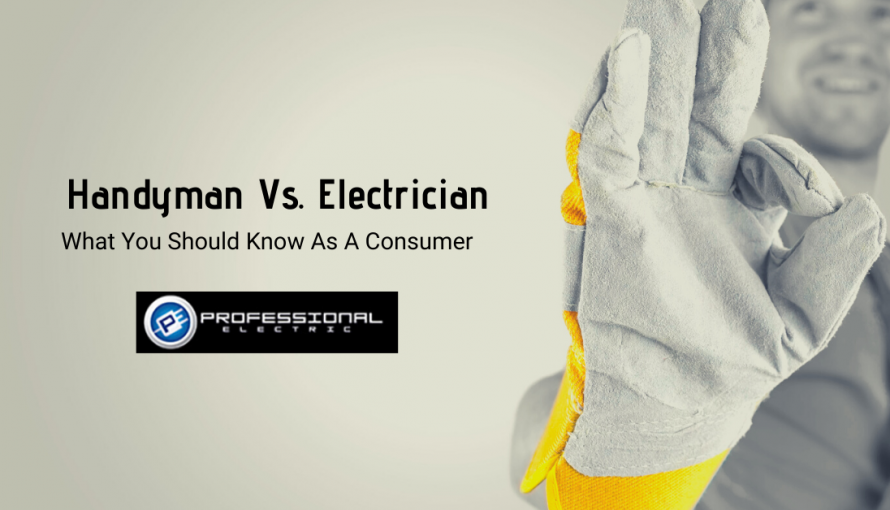 Handyman VS. Electrician